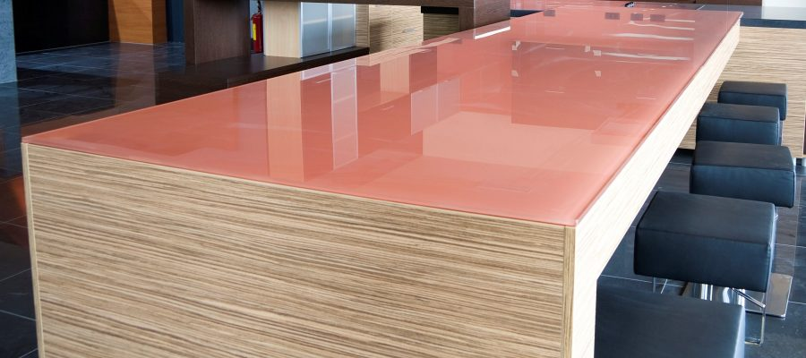 glass worktops